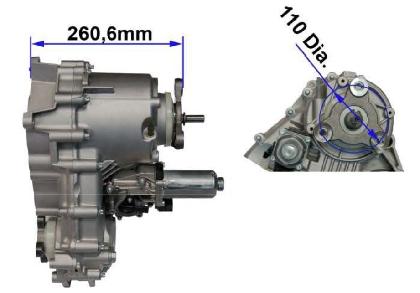 Skrzynia rozdzielcza ATC400 BMW 27103455132 - Nowa