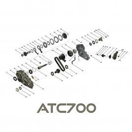 Zestaw naprawczy VTG skrzyni rozdzielczej, reduktor ATC700 BMW X5 E70, X6 E71