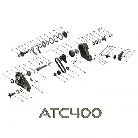 Zestaw naprawczy VTG skrzyni rozdzielczej, reduktora ATC400 BMW X3 E83