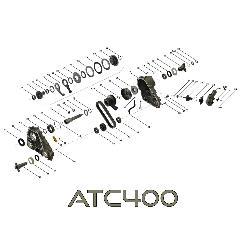 Repair Kit For Transfer Case Full Atc 400 Bmw X3 E83