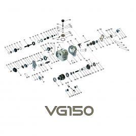 Pierścień synchronizatora reduktor VG150, VG150 E Mercedes G-klasa