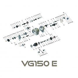 Zestaw łożysk reduktora VG150 E Mercedes G-klasa