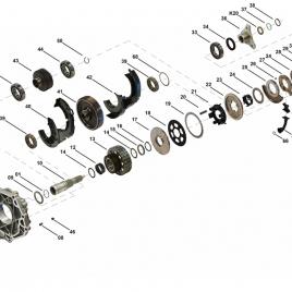 Zestaw naprawczy sprzęgła Hyundai ATC